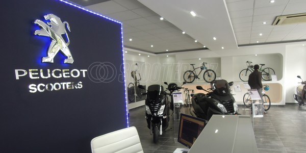 SHOWROOM PEUGEOT MOTOCYCLES ALGERIE