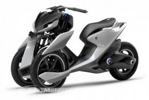 Yamaha 03GEN-f et 03GEN-x : 2 concepts 3-roues au salon de Bangkok