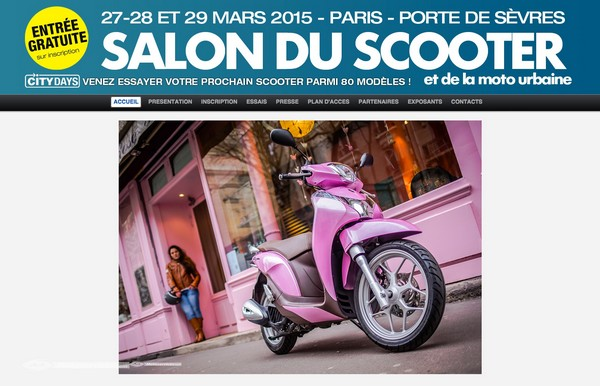 Salon du scooter de paris 2015 for Salon des ce paris 2015