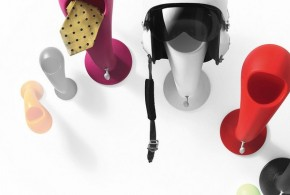 Crazy Head par Myyour : un porte-casque malin !