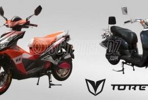 Toretto, la nouvelle marque de scooter espagnol