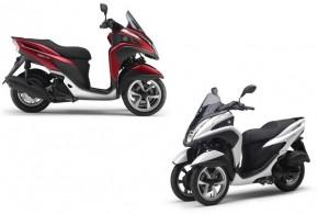Yamaha Tricity / MBK Tryptik : hausse de tarif et arrivée de la version ABS