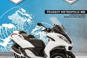 Promos Peugeot : le Metropolis en reprise + 600 €