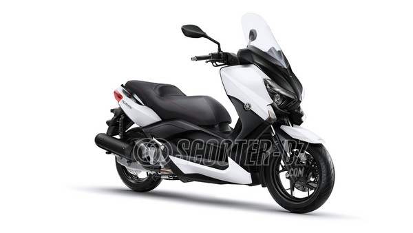 yamaha xmax 125 abs. Black Bedroom Furniture Sets. Home Design Ideas