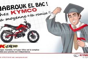 Kymco Algérie : sa note en remise pour tous les bacheliers !