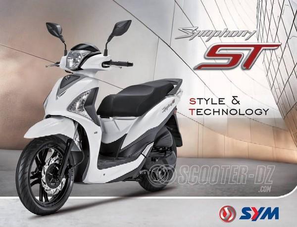 SYM Symphony ST 150 disponible à 235.000 DZD