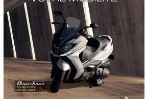 Kymco : promo accessoires sur la gamme scooters GT