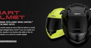 Nouveauté 2016 - Eicma - Sena Smart Helmet : le premier casque intégral à réduction de bruit actif