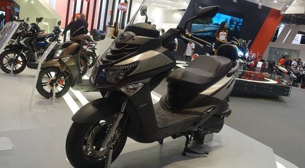 nouveaut 2016 eicma sym joyride 125s scooter dz. Black Bedroom Furniture Sets. Home Design Ideas