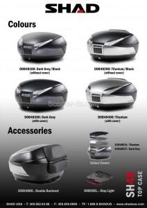 Promotion accessoires : Top-Case SHAD SH 48