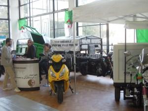 Les exposants 2 roues de la 24ème Foire de la production nationale