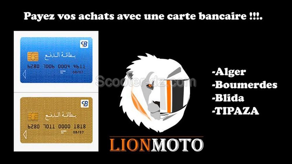 Le paiement électronique disponible sur LionMoto.com