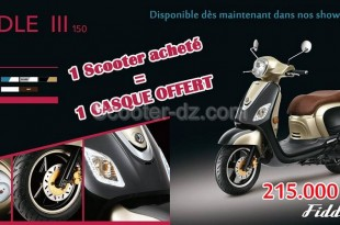 SYM Algérie : disponibilité du scooter SYM Fiddle 3 150