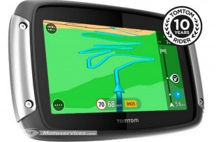 TomTom RIDER 410 'Great Rides Edition' : des sensations à vie