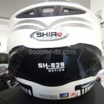 Protection pour enfants : casque SHIRO SH-829 noir/blanc