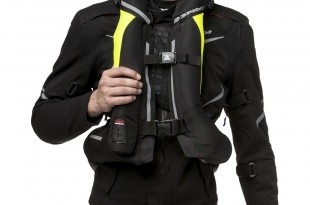 Gilet airbag : nouveau Spidi Full DPS
