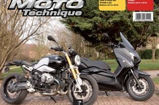 La RMT est parue avec Yamaha Xmax 400