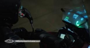 Un pare-brise intelligent pour le Yamaha Tricity