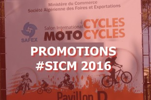 SICM 2016 : les promotions et remises du salon motocycles d'Alger