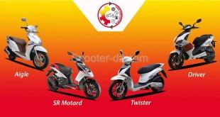 VMS : la gamme scooters, disponibilité et tarifs 2016