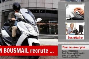 Sym Algérie recrute pour son showroom de Bousmaïl