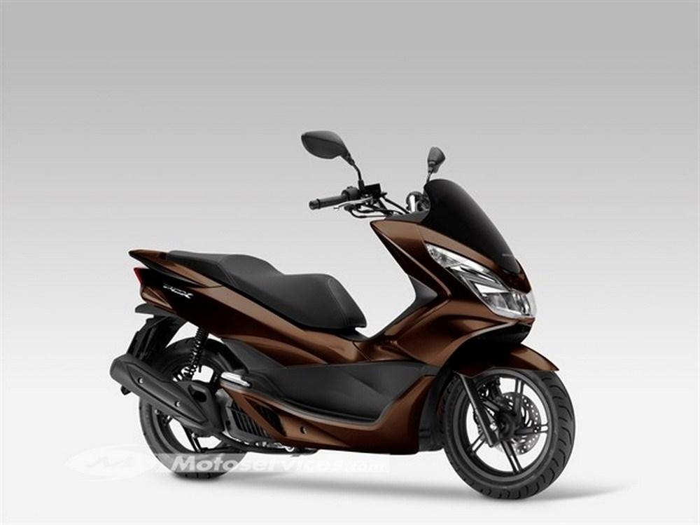 honda pcx 2017 euro4 nouveaux pneus michelin city grip scooter dz. Black Bedroom Furniture Sets. Home Design Ideas