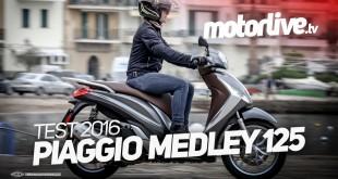 Essai Piaggio Medley 125 : la vidéo est en ligne