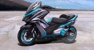 Kymco K50 : le concept anti-Tmax proche de la série ?