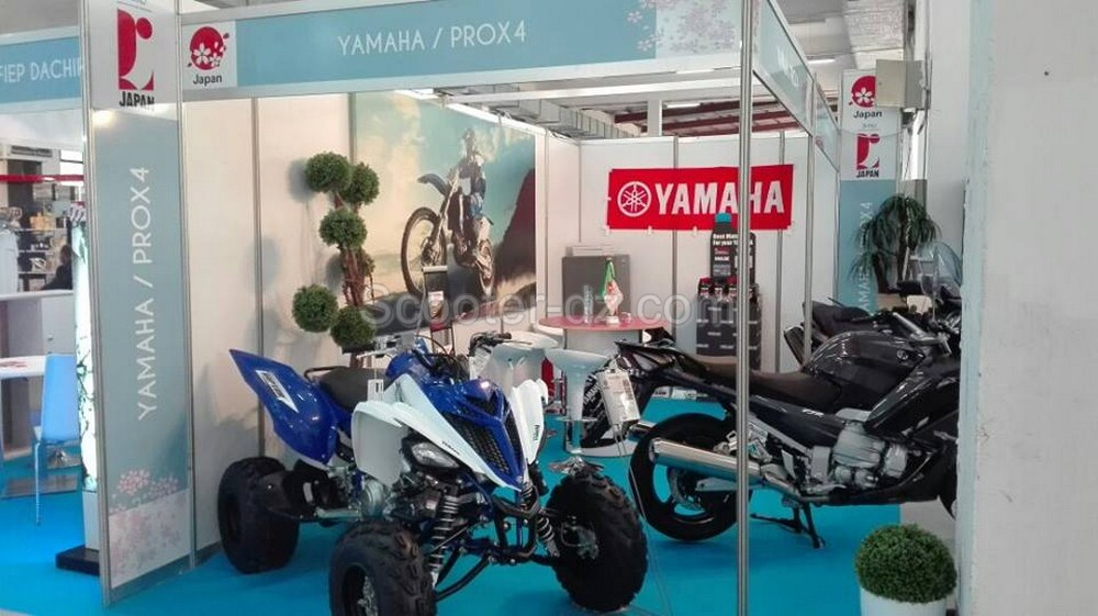 FIA Alger 2016 : Yamaha Algérie Sous Le Pavillon Nippon