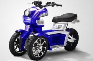 Goodyear e-Go 1 et e-Go 2 : petits 3-roues électriques eco-friendly