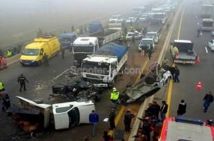 Accidents de la route: 34% des personnes tuées en 2015 ont moins de 30 ans
