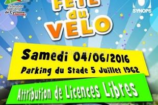 1ère édition de la Fête du Vélo - Alger | 04-06-2016 au Stade 5 juillet