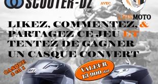 """Gagnez un casque avec """"Lion Moto"""" & """"Scooter-dz"""" - Concours Été 2016"""
