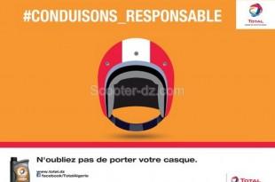 Total Lubrifiants Algérie lance « #CONDUISONS_RESPONSABLE »