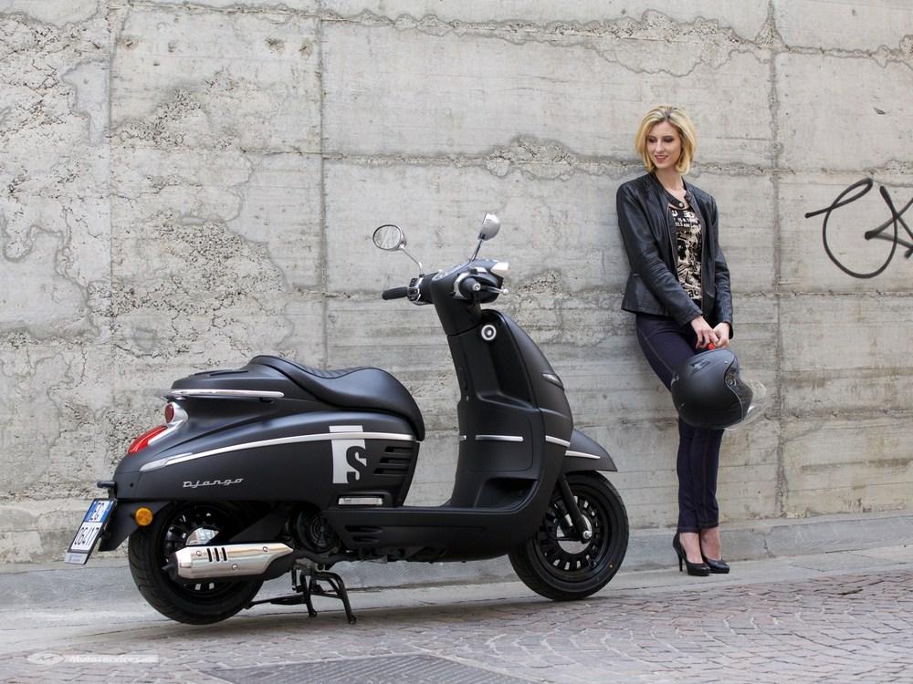 peugeot le django sport en version s mad black scooter dz. Black Bedroom Furniture Sets. Home Design Ideas