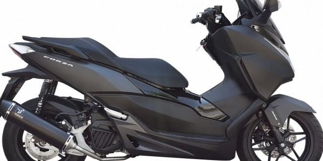 chappement honda forza 125 le bon prix ixrace scooter dz. Black Bedroom Furniture Sets. Home Design Ideas