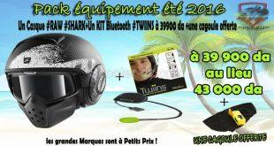 "Sidi Achour Motos Pièces lance sa promo ""Casque"" + ""Bluetooth"""