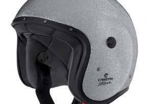 Caberg Freeride Flake : le casque jet pailleté