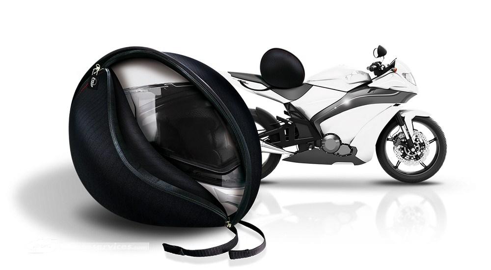 ozip k360 la housse de casque zip e antivol scooter dz. Black Bedroom Furniture Sets. Home Design Ideas