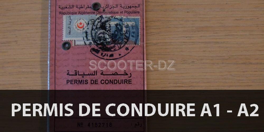Réglementation : Le permis de conduire moto A1 et A2