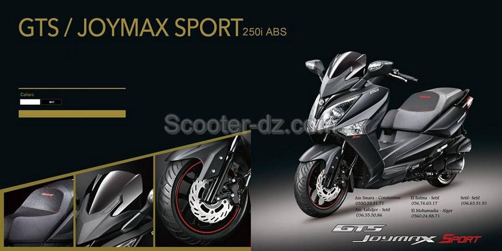 Sym Algérie : GTS Joymax 250 i ABS is back
