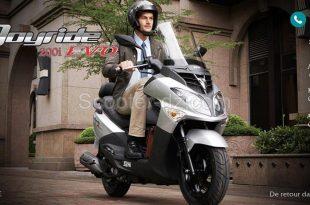 le scooter GT Joyride 200i Evo est disponible