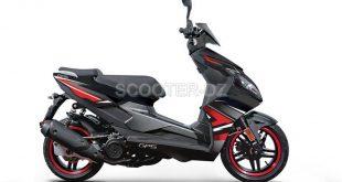 VMS Algérie : nouveau scooter sportif, VMS GSRX 125