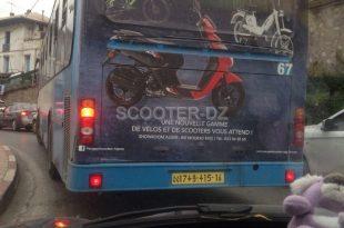 Peugeot Scooters Algérie habille les bus de la capitale