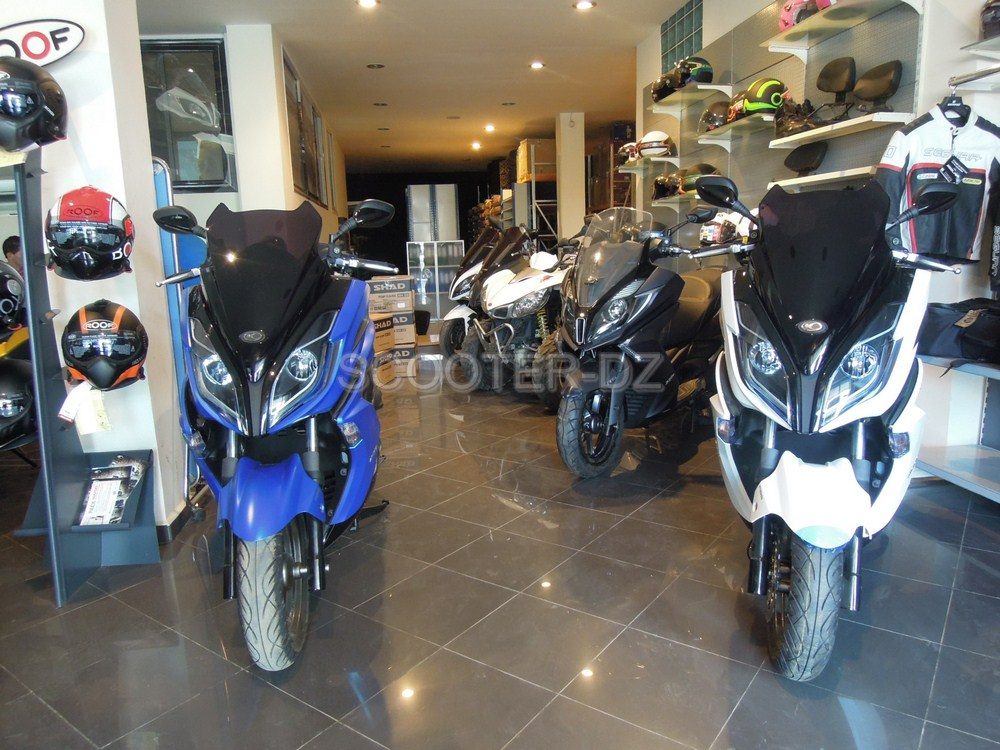 Kymco Algérie a récemment reçu 4 scooters