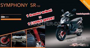 SYM Algérie : Symphony SR 150, disponibilité et tarif