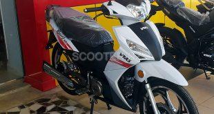 VMS Ninja Racing 125cc, le scooter à vitesses semi-auto
