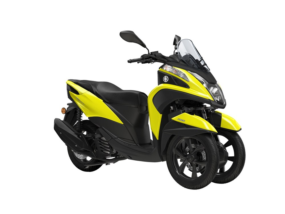 nouveaut 2017 yamaha tricity 125 eicma 2016 scooter dz. Black Bedroom Furniture Sets. Home Design Ideas
