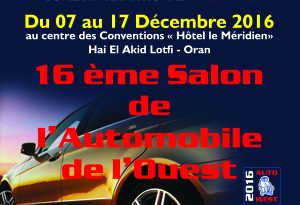 AUTOWEST 2016 - ORAN - ALGERIE