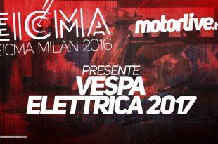 Vespa Elettrica 2017 - Eicma 2017
